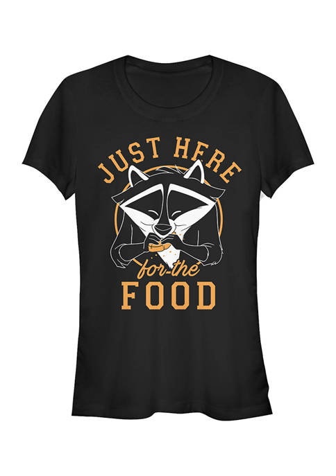 Disney Princess Juniors Meeko Here For Food T-Shirt