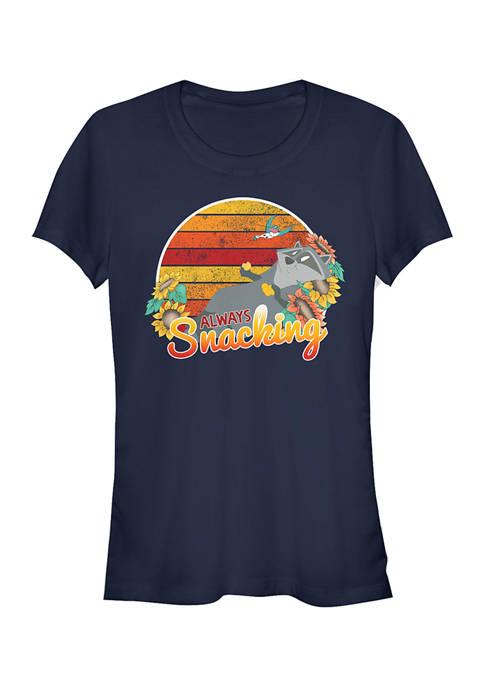 Juniors  Meeko Snacks T-Shirt