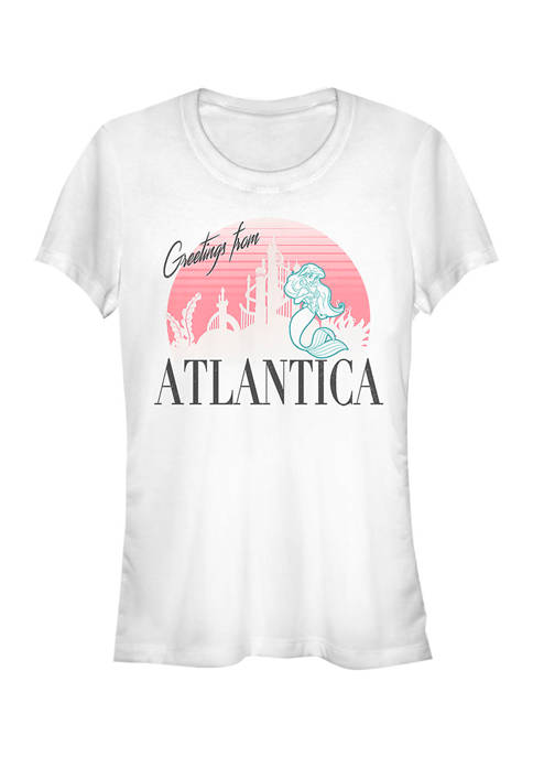Disney Princess Juniors Atlantica Greetings Graphic T-Shirt
