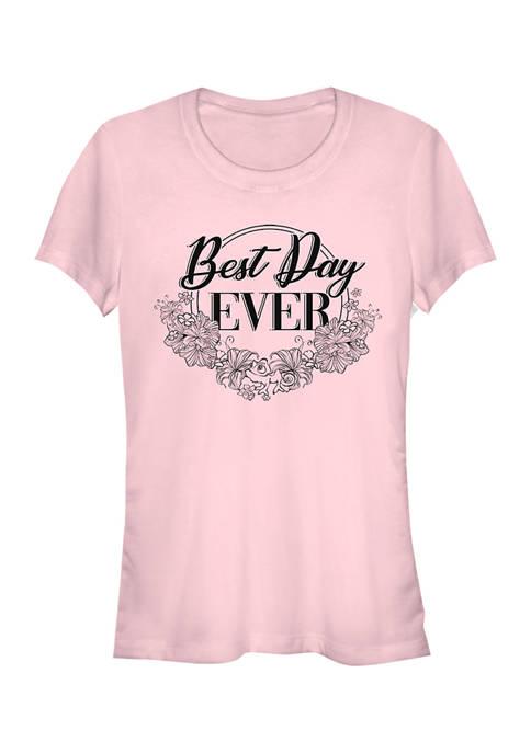 Disney Princess Juniors Best Day Ever Graphic T-Shirt