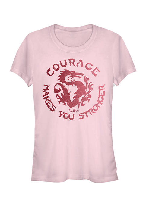 Disney Princess Juniors Courage Graphic T-Shirt