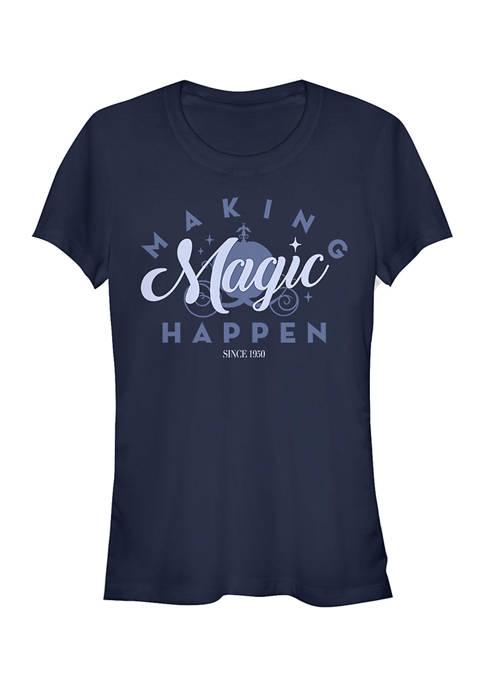 Disney Princess Juniors Magic Since 1950 Graphic T-Shirt