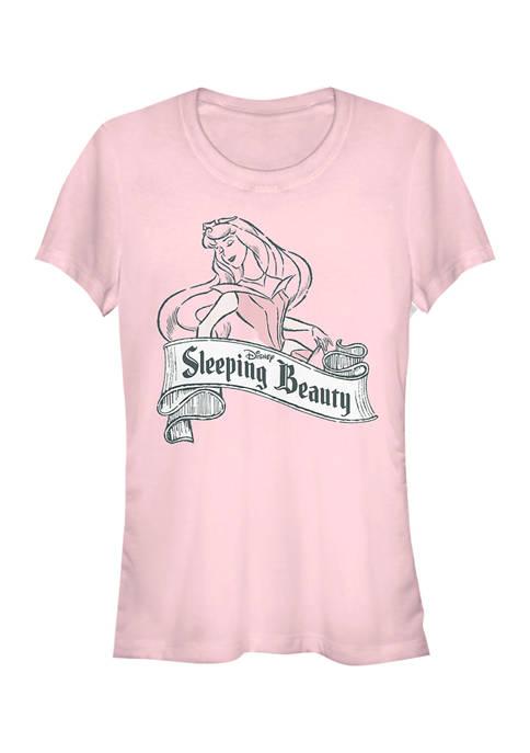 Disney Princess Juniors Antique Aurora Graphic T-Shirt
