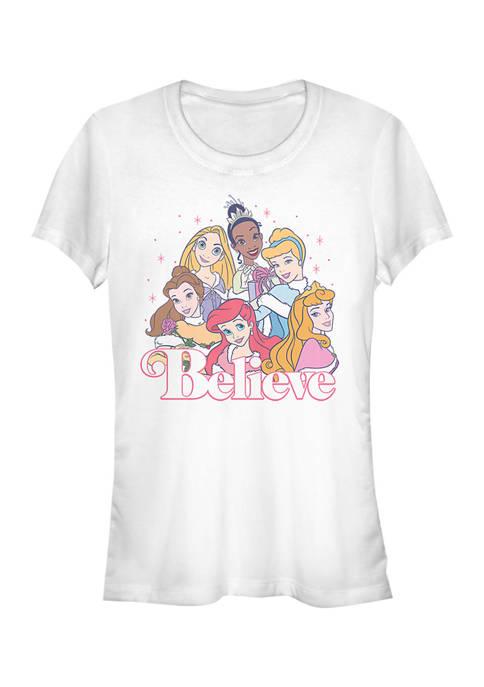 Juniors Believe Graphic T-Shirt
