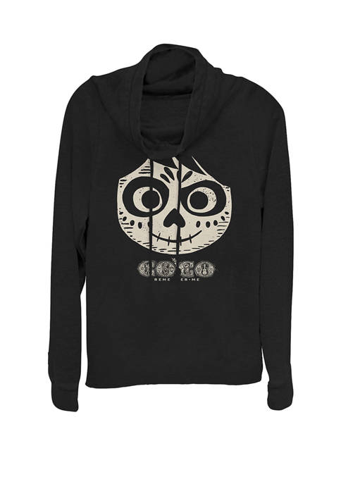 Disney® Pixar™ Coco Miguel Skeleton Face Cowl Neck