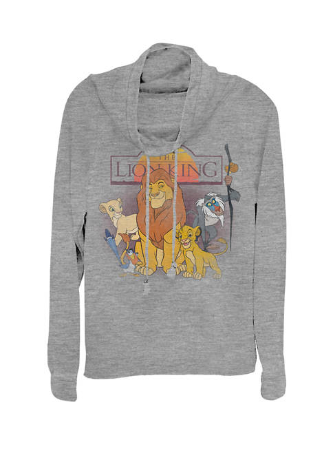 Disney® Lion King Mufasa Sunrise Group Cowl Neck