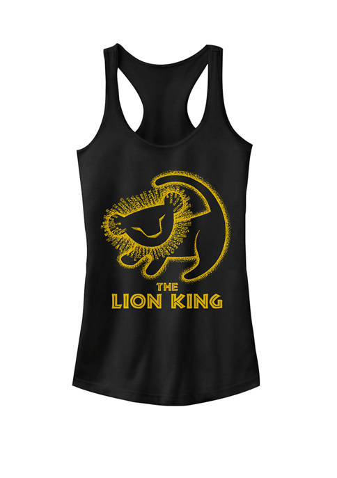 Disney® Lion King Simba Cave Painting Graphic Racerback