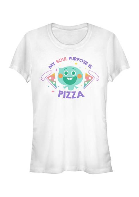 Juniors Pizza Purpose Graphic Top