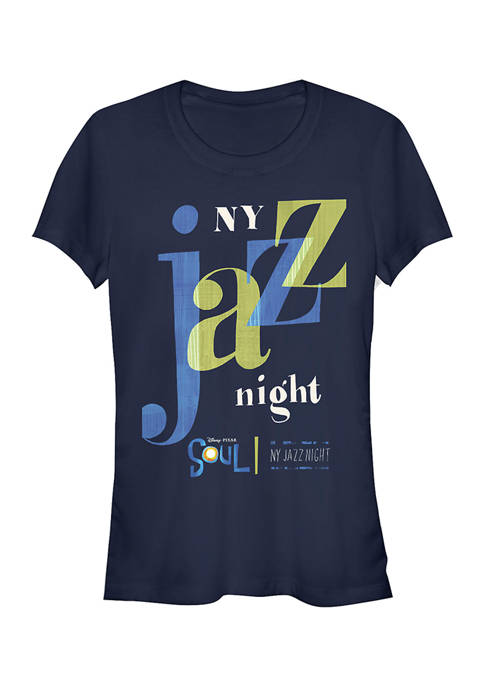 Juniors NY Jazz Night Graphic Top