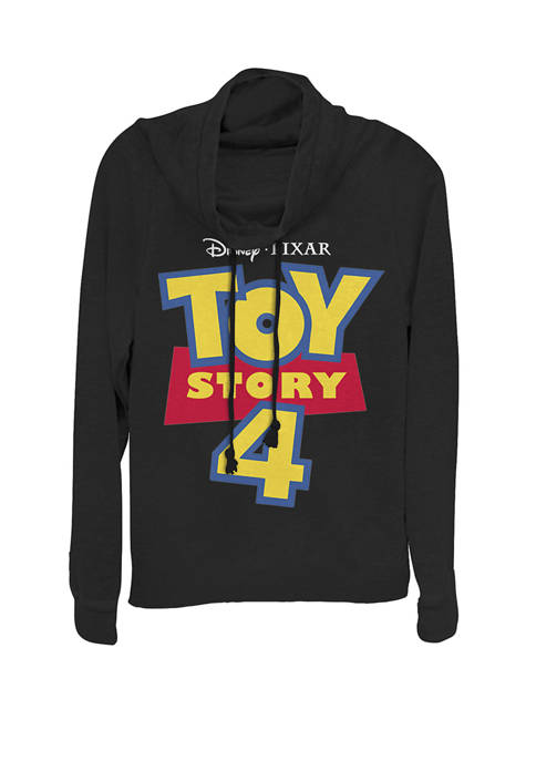 Toy Story 4 Movie Logo Cowl Neck Pullover