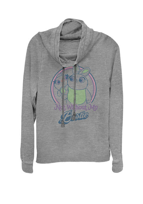 Toy Story 4 Ducky & Bunny My Bestie Poster Cowl Neck Graphic Pullover
