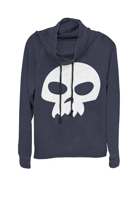 Toy Story Sid Skull Costume Cowl Neck Pullover