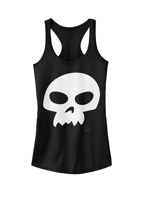 Toy Story Sid Skull Costume Racerback Graphic Tank
