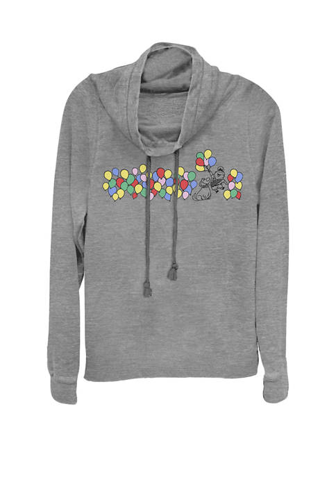 UP Russell Dug Balloons Cowl Neck Graphic Pullover