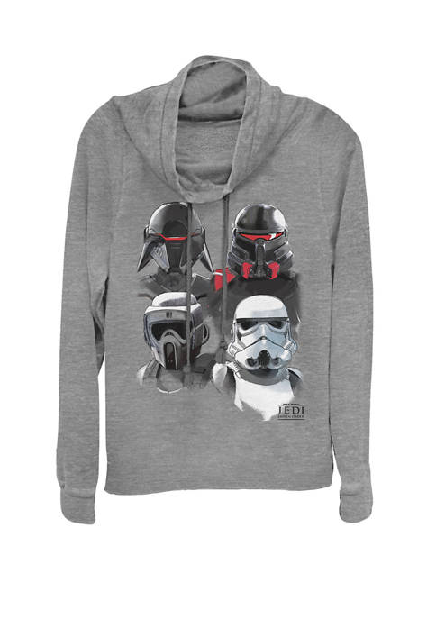 Jedi Fallen Order Fourth Order Troopers Cowl Neck Pullover