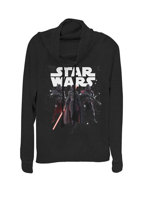 Jedi Fallen Order The Dark Side Cowl Neck Graphic Pullover