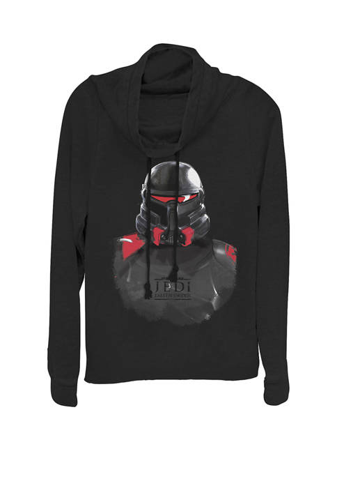 Jedi Fallen Order Purge Trooper Helmet Cowl Neck Graphic Pullover