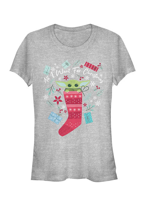 Juniors All I Want For Christmas Top