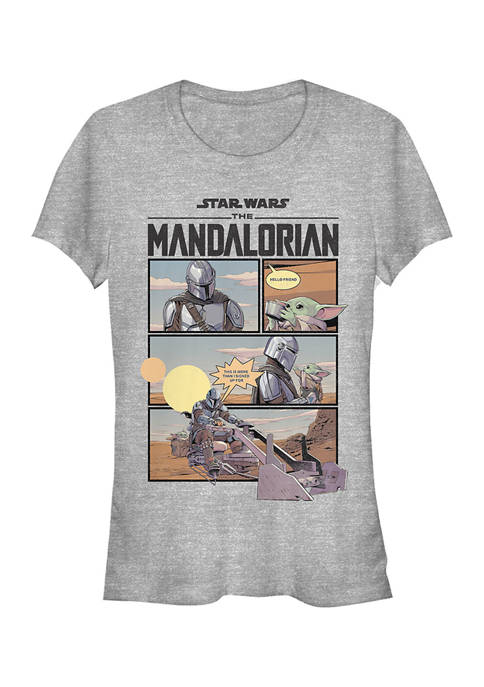 Star Wars The Mandalorian Juniors Mando Comic Graphic