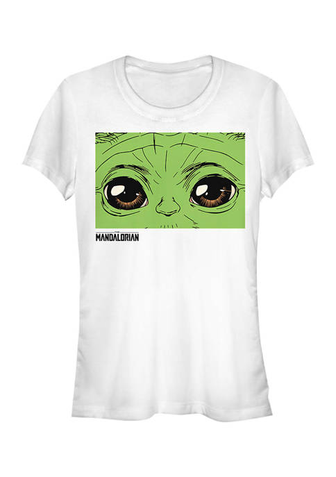 Juniors  These Eyes Graphic T-Shirt