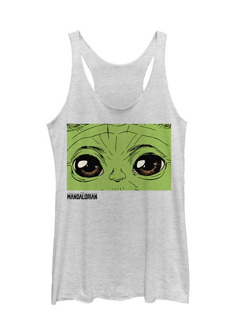 Juniors These Eyes Graphic Tank
