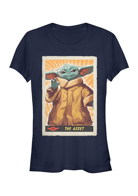 Juniors  The Asset Poster Graphic T-Shirt