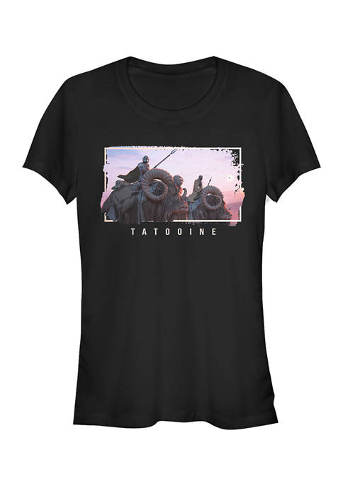 Juniors  MandoMon Epi Hidden Graphic T-Shirt