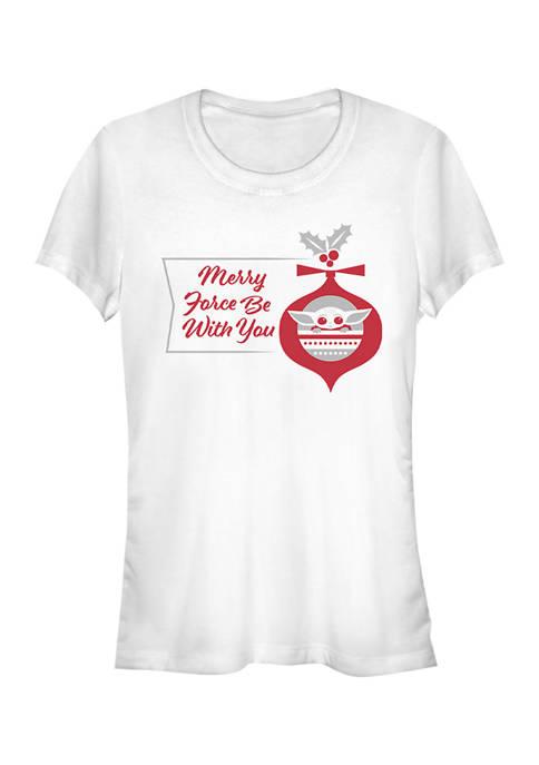 Juniors Merry Force T-Shirt