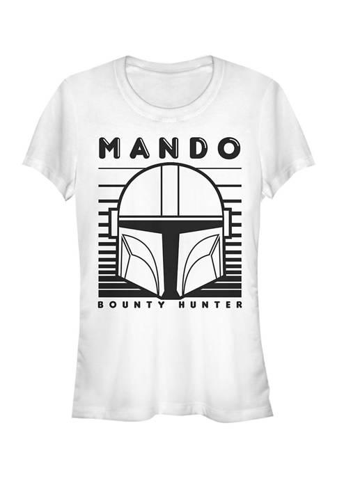 Juniors  MANDO 1 COLOR SIMPLE T-Shirt