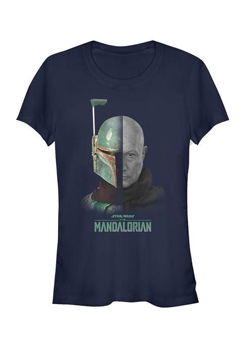 Juniors  MandoMon Epi6  Counted Graphic T-Shirt