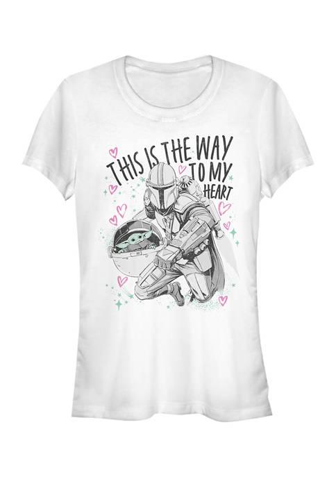 Juniors  Way to My Heart T-Shirt