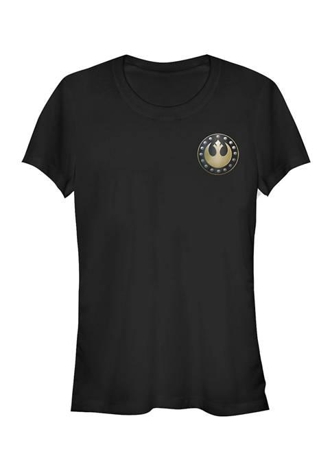 Star Wars The Mandalorian Juniors Rebel Graphic T-Shirt