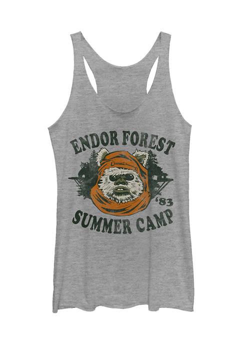 Juniors Star Wars Endor Camp Tank