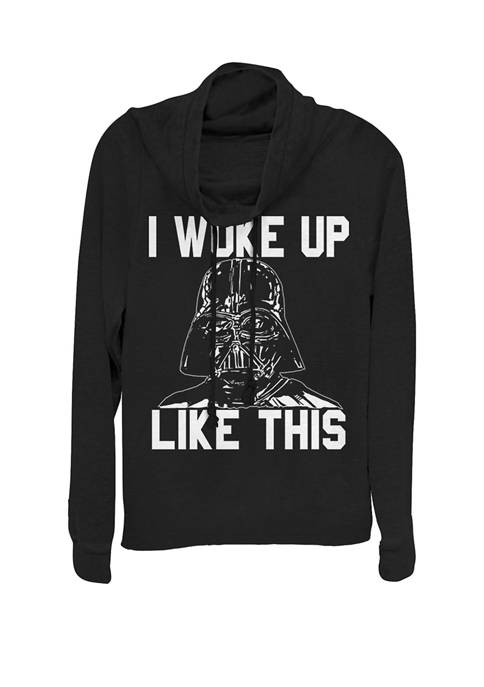 Darth Vader Woke Up Like This Cowl Neck Pullover