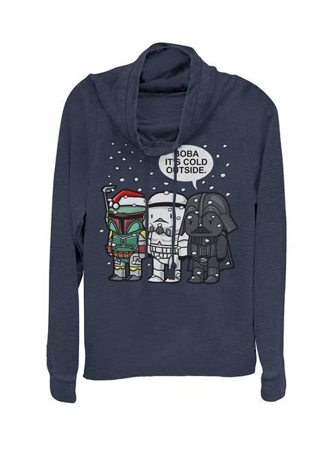 Star Wars® Christmas Boba Its Cold Outside Cowl