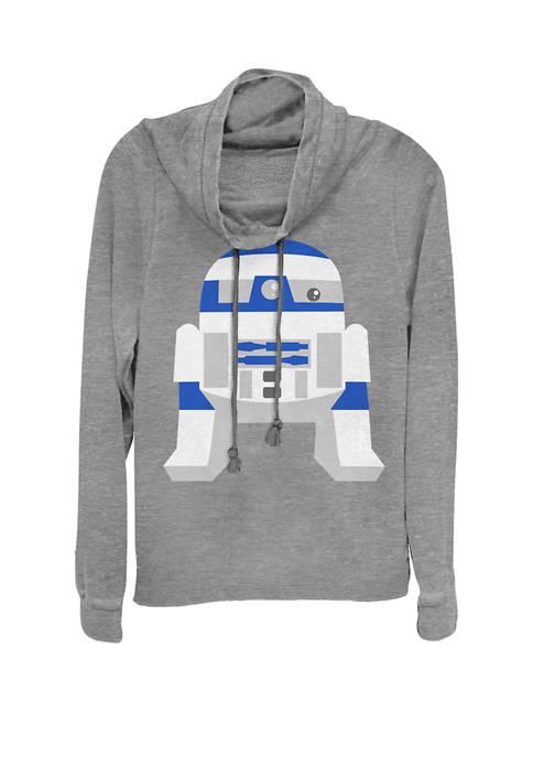 Star Wars® Cute Cartoon R2-D2 Droid Cowl Neck