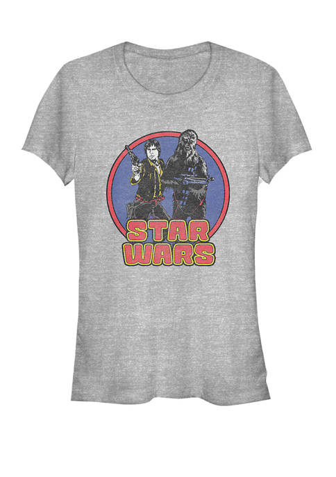 Star Wars® Han & Chew Retro Primary Circle