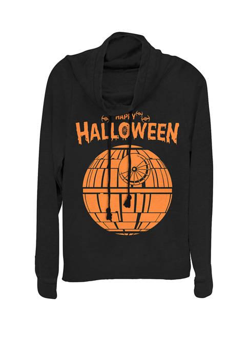 Star Wars® Death Star Happy Halloween Cowl Neck