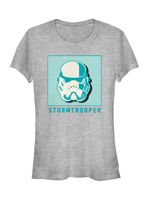 Stormtrooper Helmet Pop Box Short Sleeve Graphic T-Shirt