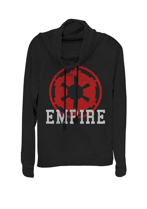 Star Wars® Empire Symbol Cowl Neck Graphic Pullover