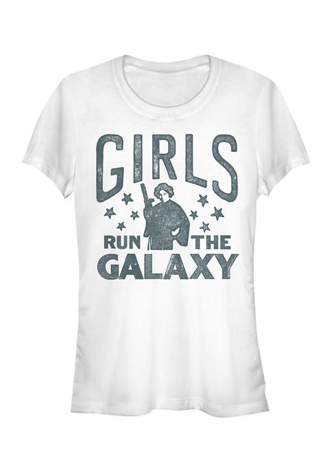 Star Wars Juniors Girls Run The Galaxy Graphic