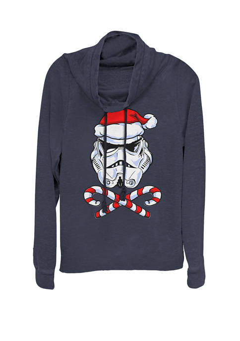 Star Wars® Christmas Stormtrooper Santa Hat Candy Canes