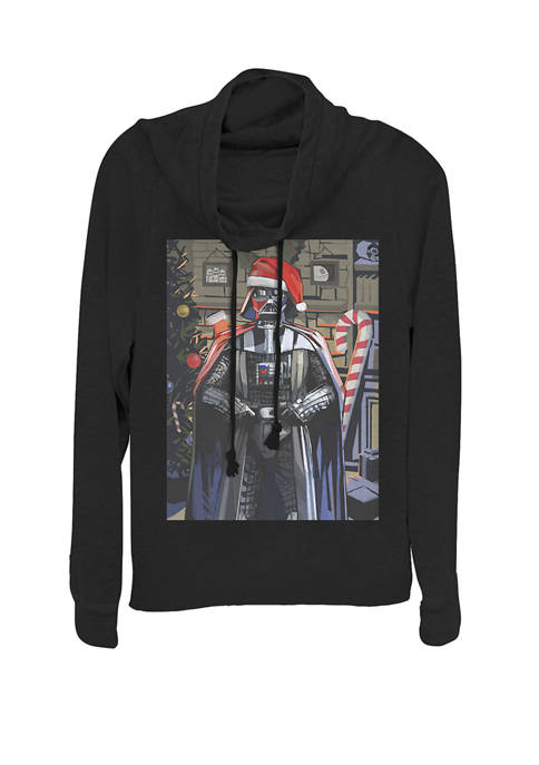 Star Wars® Christmas Darth Vader Painting Cowl Neck