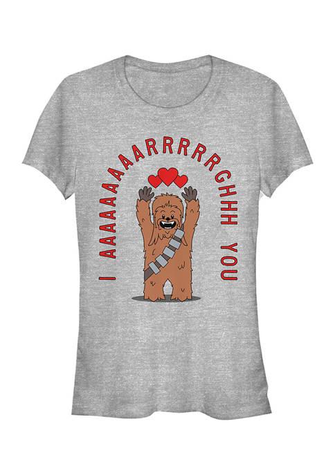 Star Wars Juniors Chewie Arrgghs You T-Shirt