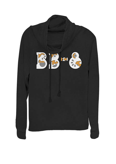 Star Wars® BB-8 Droid Parts Text Cowl Neck