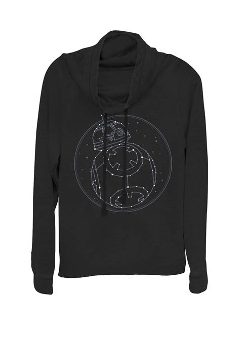 Star Wars® BB-8 Constellation Cowl Neck Graphic Pullover