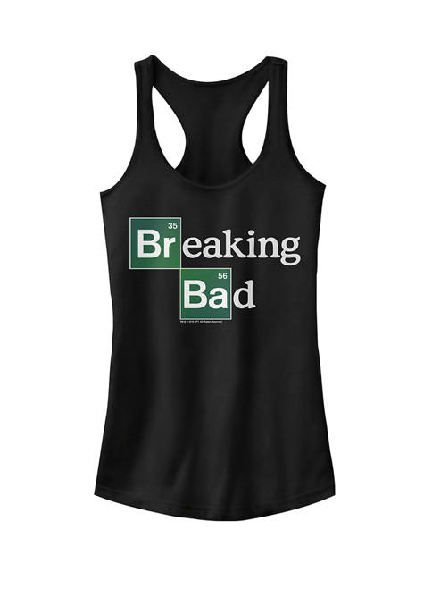 Breaking Bad Periodic Square Logo Graphic Racerback Tank