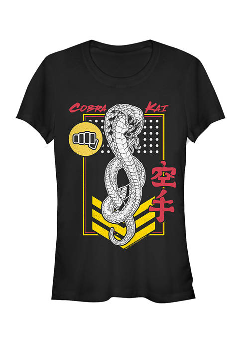 Cobra Kai Juniors Kai Patch Graphic Top