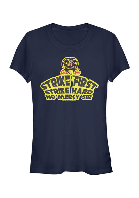 Cobra Kai Juniors Strike First Graphic Top