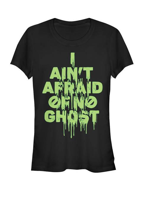 I Aint Afraid Of No Ghost Slim Drip Short Sleeve T-Shirt